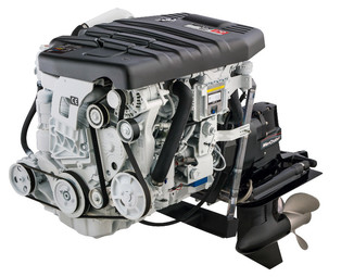 Mercury diesel 2.0L 170S med Alpha One drev