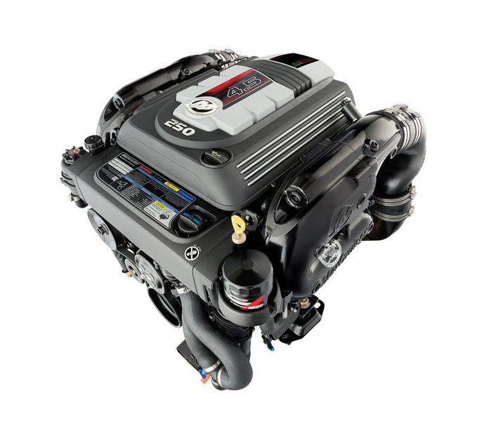 MerCruiser 4.5L MPI 250hk Bravo III drivline